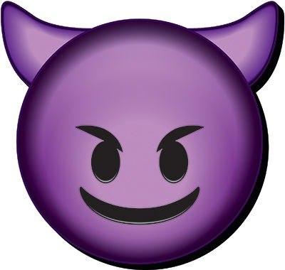 emoticon diablo sonriente