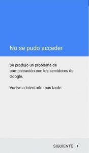 Problema Comunicación Gmail